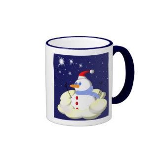 Frosty Ringer Coffee Mug