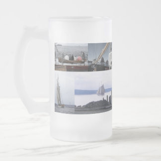 Frosty Seas Frosted Glass Beer Mug