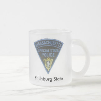 Frosty small frosted glass mug