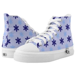 Frosty Snowflakes Hi Tops