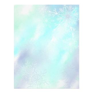 Frosty Snowflakes- Letterhead