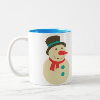 Frosty Snowman mug