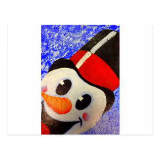 Frosty Snowman Post Cards