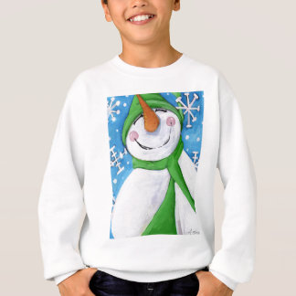 Frosty the happy snowman sweatshirt