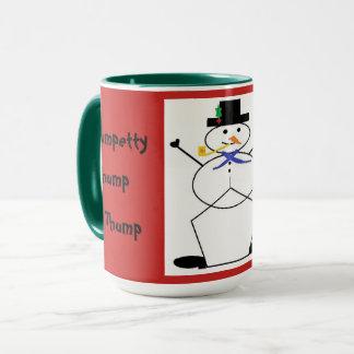 """""""Frosty the Snowman"""" 15 ounce Combo Mug"""
