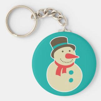 Frosty the Snowman keychain