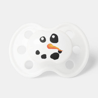 Frosty the Snowman Smiling Pacifier