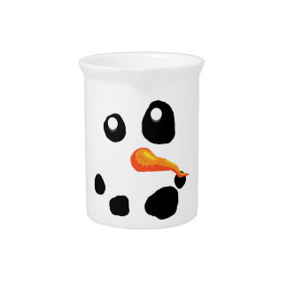 Frosty the Snowman Smiling Pitcher