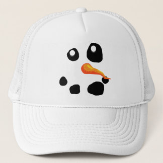 Frosty the Snowman Smiling Trucker Hat