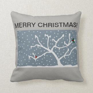 frosty throw cushion