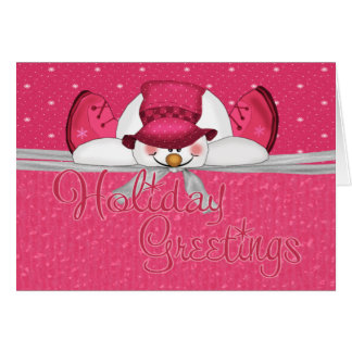 frosty topper card