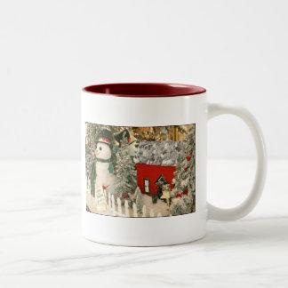 frosty Two-Tone coffee mug