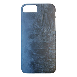 Frosty Water Ice Abstract iPhone 7 Case
