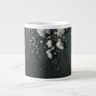 Frosty Window; No Text Jumbo Mug