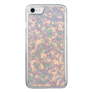 Frosty World Blue Pink Futuristic Laser Snow Carved iPhone 8/7 Case