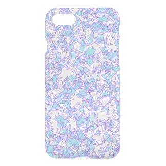 Frosty World Blue Pink Futuristic Laser Snow iPhone 8/7 Case