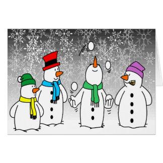Frosty's Friends Card