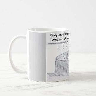 Frosty's Hot Tub Classic White Coffee Mug