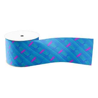 Frothing Neon Grosgrain Ribbon
