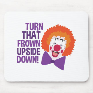 Frown Updide Down Mouse Pad