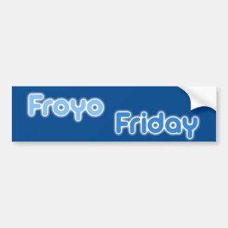 FroyoFriday Bumper Sticker