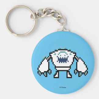 Frozen | 8-Bit Marshmallow Basic Round Button Keychain