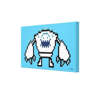 Frozen | 8-Bit Marshmallow Canvas Print