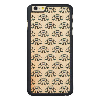 Frozen   8-Bit Marshmallow Carved® Maple iPhone 6 Plus Case