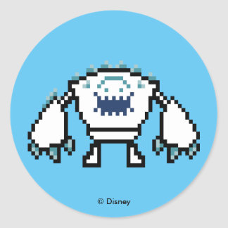Frozen | 8-Bit Marshmallow Round Sticker