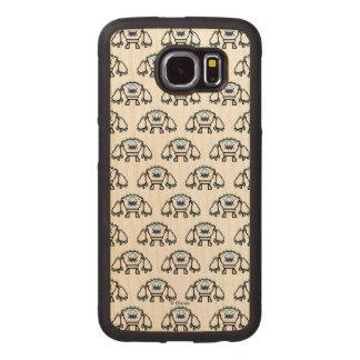 Frozen   8-Bit Marshmallow Wood Phone Case