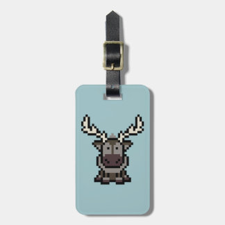 Frozen | 8-Bit Sven Luggage Tag