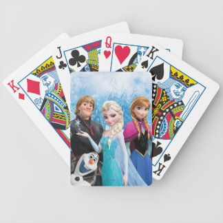 Frozen | Anna, Elsa, Kristoff and Olaf Bicycle Playing Cards