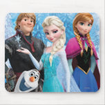 Frozen | Anna, Elsa, Kristoff and Olaf Mouse Pad