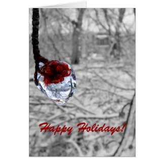 """Frozen Berries"" Holiday Card"