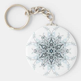Frozen Bluebells Keychain