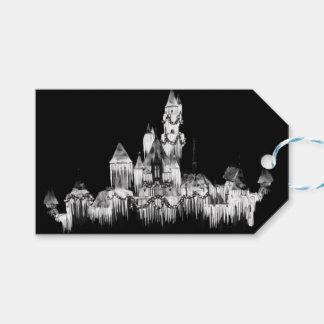 Frozen Castle - B&W Gift Tags