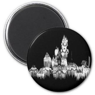 Frozen Castle - B&W Magnet