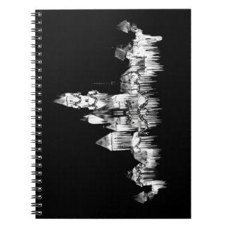 Frozen Castle - B&W Notebooks