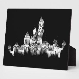 Frozen Castle - B&W Plaque