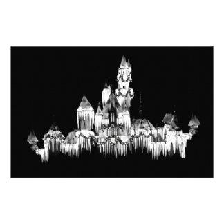 Frozen Castle - B&W Stationery