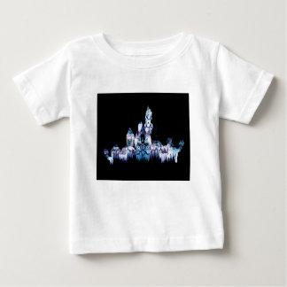 Frozen Castle - Snowflakes Baby T-Shirt