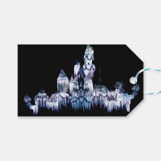 Frozen Castle - Snowflakes Gift Tags