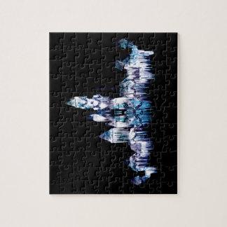 Frozen Castle - Snowflakes Jigsaw Puzzle