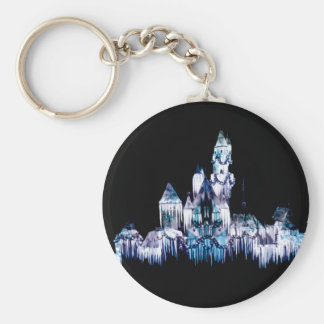 Frozen Castle - Snowflakes Keychain