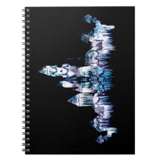 Frozen Castle - Snowflakes Notebook