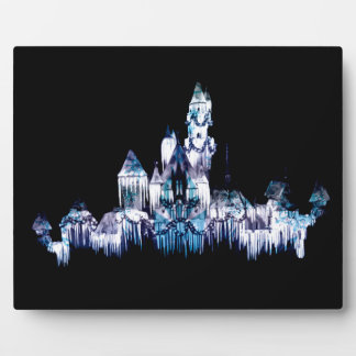 Frozen Castle - Snowflakes Plaque
