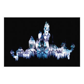 Frozen Castle - Snowflakes Stationery