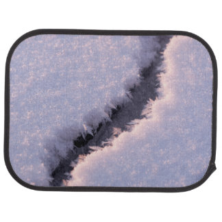 Frozen chasm car mat