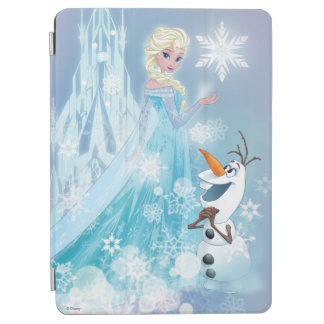 Frozen | Elsa and Olaf - Icy Glow iPad Air Cover