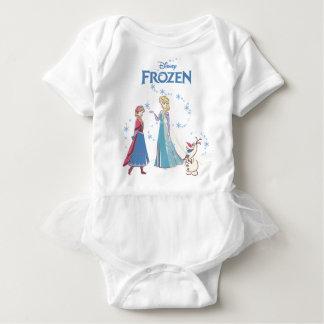 Frozen | Elsa, Anna & Olaf Baby Bodysuit